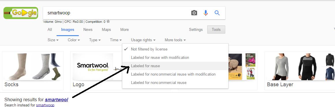 find free images on google