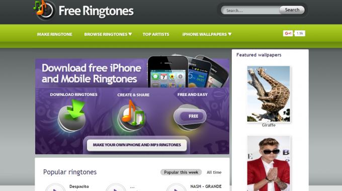 free rintones.cc