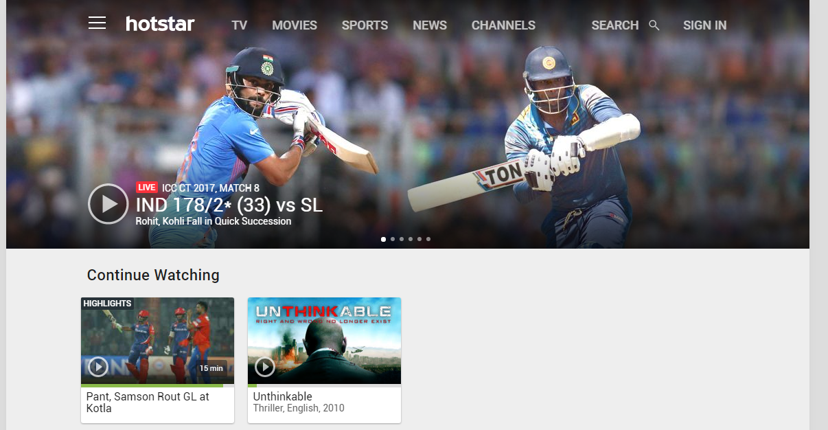 Image result for hotstar free download