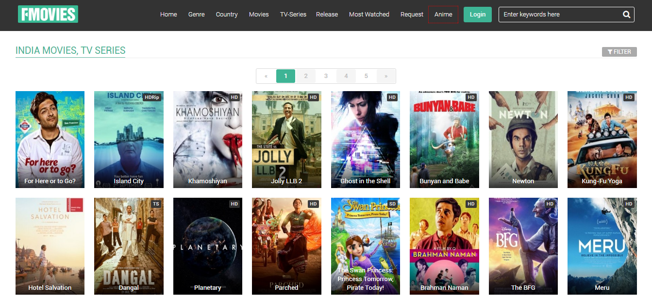 Best websites to watch movies online free in india