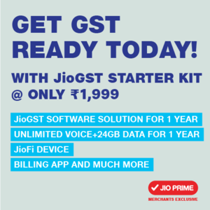 Reliance JioFI JioGST A One Stop GST Solutions for Smart Traders