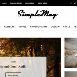 Simple mag WordPress Theme for Creative Magazine Blogs