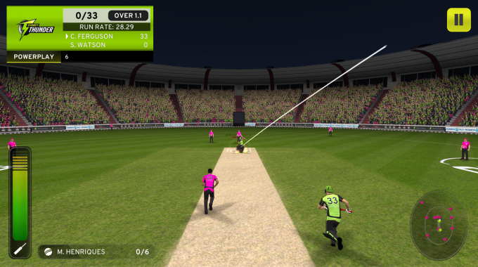 Big Bash Cricket- screenshot