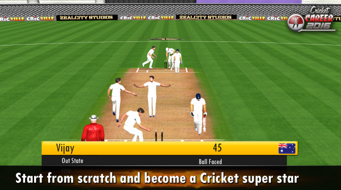 Cricket Career 2016- screenshot