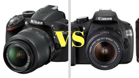 Canon 1200d Vs Nikon d3200