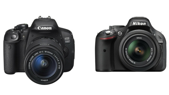 Canon 700d Vs Nikon d5200 -Which One Is Better? [Comparison Study]