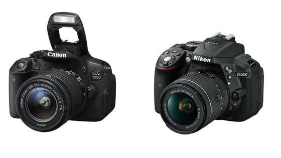 Nikon D5300 VS Canon 700d (1)