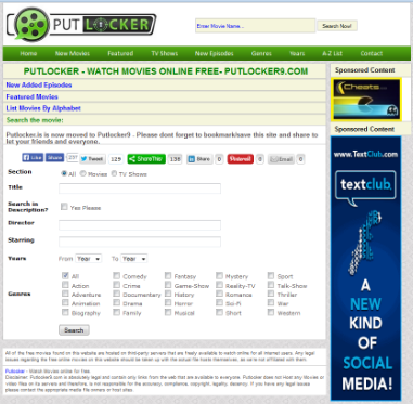 Putlocker Proxy–50+ Genuine Proxy and Mirror Sites 2018