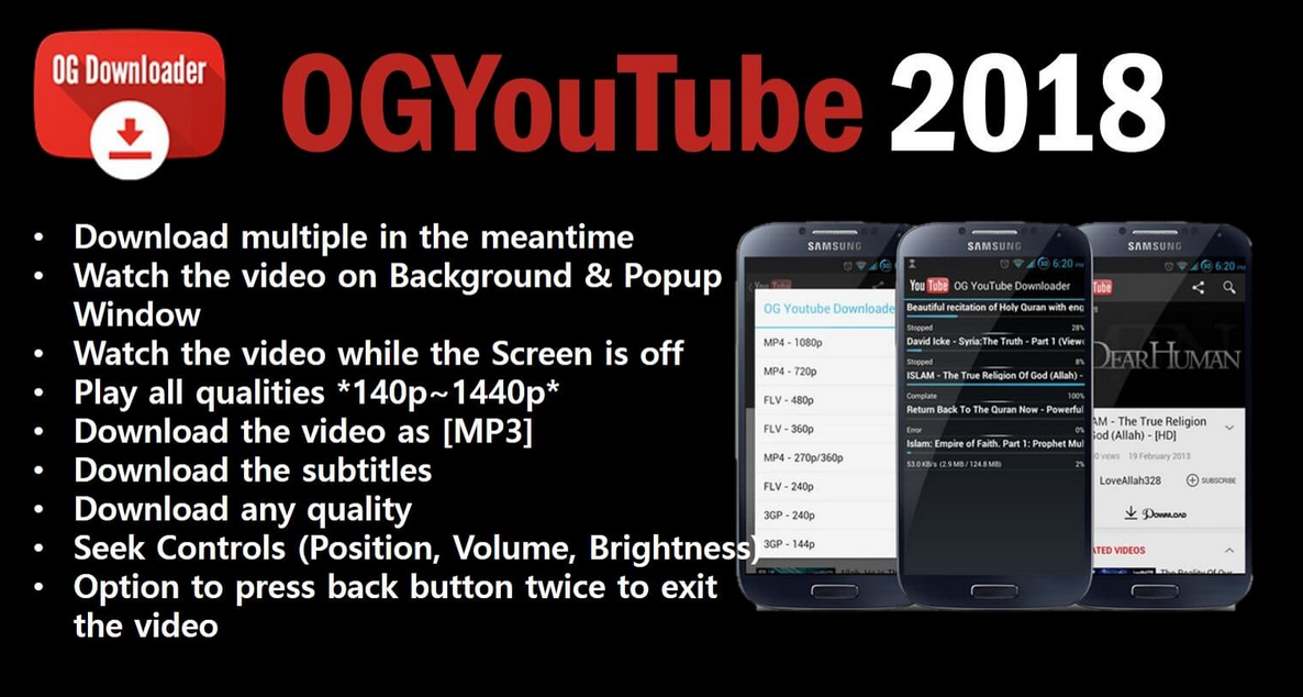Download OG YouTube Apk for Android