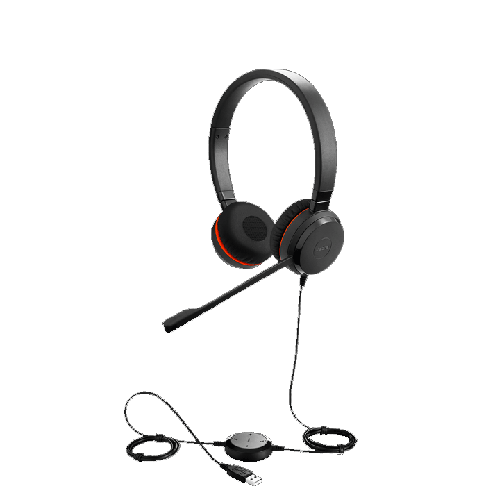 Jabra Evolve UC 30 II Stereo Wired Headset