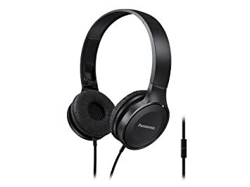 Panasonic RP-HF100M-K Lightweight On-Ear Headphones