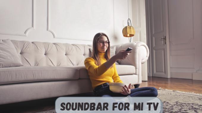 Soundbar for Mi TV