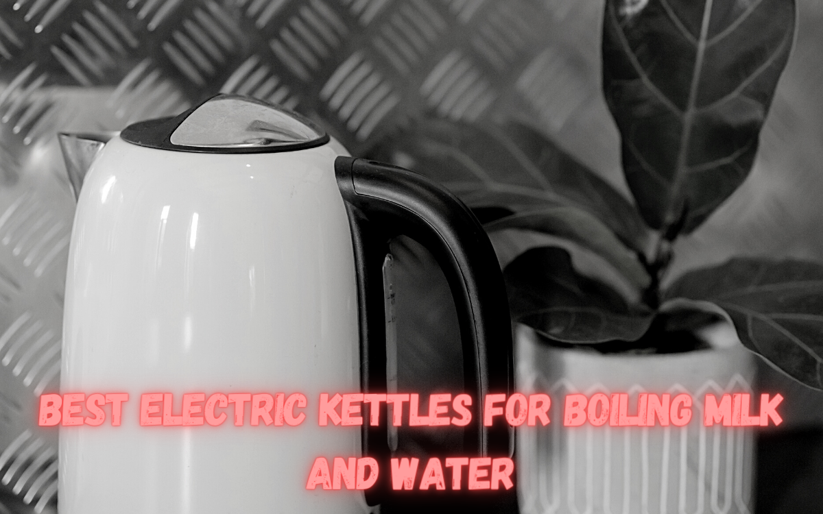 Best Electric Kettles for Boiling Milk and Water