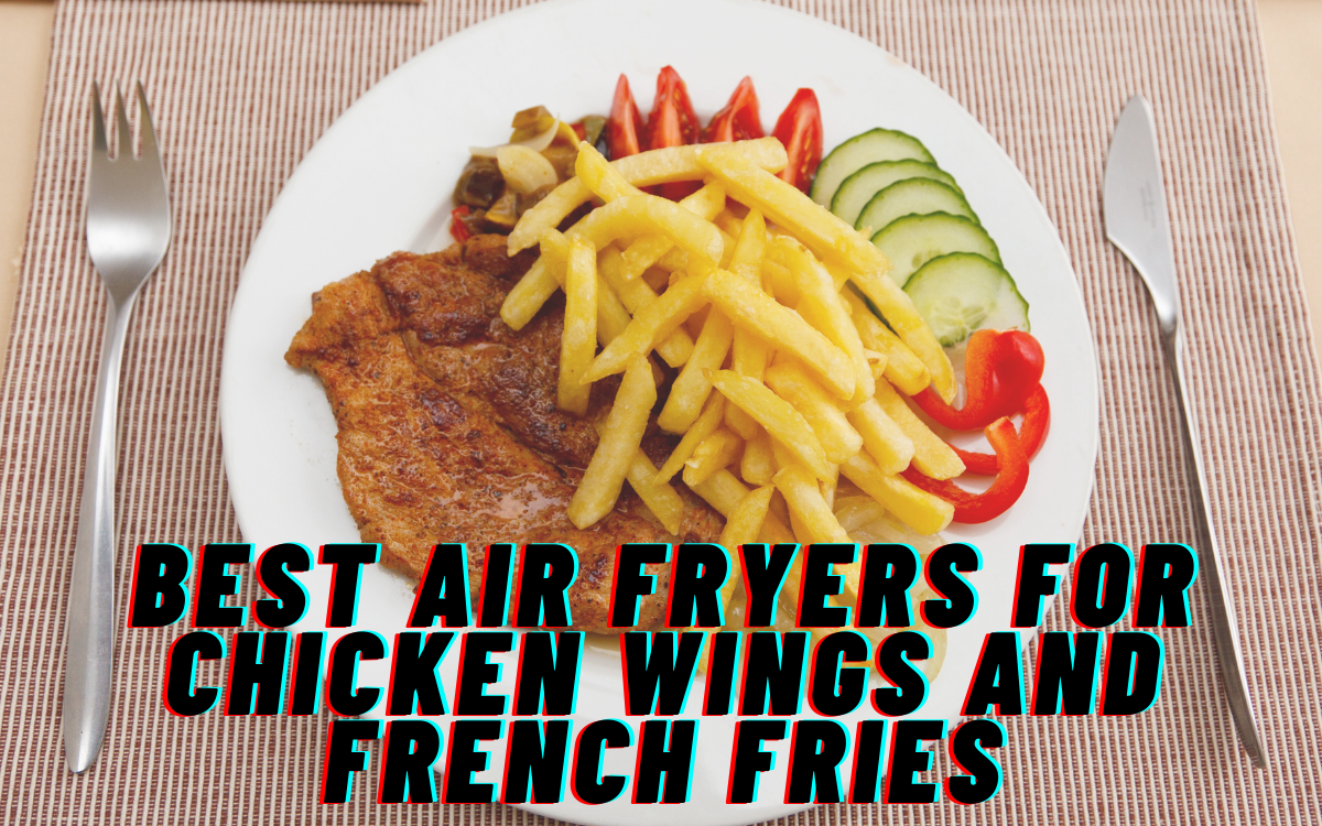 best Air Fryers for Chicken Wings and French Fries