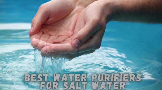 Best Water Purifiers for Salt Water